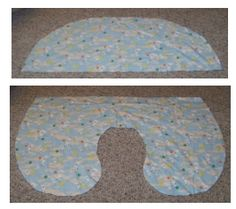 Make your own boppy cover! SOO gonna do this for friends with babies!