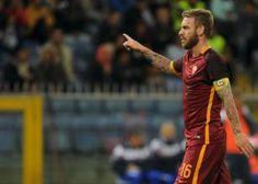 TUTTO CALCIO : Roma, ricaduta al polpaccio per De Rossi: si temon...