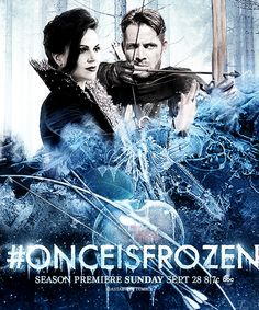 Once is Frozen! | Regina and Robin, I like these two together better than Robin and Marion!