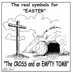 Easter colouring page. I am not at all religious but we should not lose sight of why we celebrate Easter.