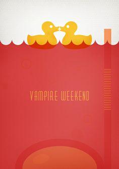 Vampire Weekend music  posters
