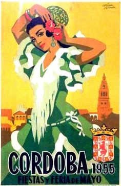 By Alvarez Gomez, Cordoba y feria de mayo. - Tapas Party - By Alvarez Gomez, Cordoba y feria de mayo. Heather Creswell Creswell Taylor You are in the rig - Retro Poster, Poster Ads, Poster Prints, Poster Vintage, Vintage Travel Posters, Vintage Postcards, Vintage Advertisements, Vintage Ads, Old Posters