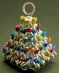 3D Christmas tree that can be used as a tree or table decoration, or just make…
