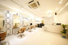 名古屋 栄 ヘアサロン 美容室 nagoya   japan hair インテリア