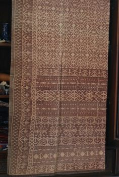 Old beautiful woven fabric from Ende, Flores Island, Indonesia.