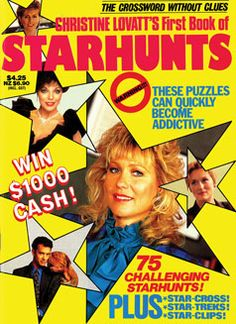 The first edition of our Starhunts magazine, created by popular demand, and published in 1990.