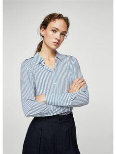 Рубашки Mango Рубашка - SWEDENRA