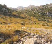 Landschaft im Velebit. Buchen Sie jetzt einen Ausflug in dieses wunderschöne Gebirge bei Kroatien-Liebe!
