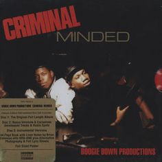 Hip-Hop HQ: Boogie Down Productions - Criminal Minded (Elite E...