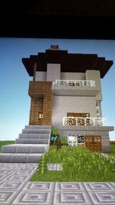 My sweet minecraft house!!!!