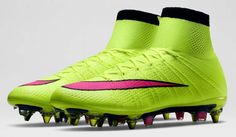 huge discount bf6a7 c093d Nike Mercurial Superfly FG Green Pink Soccer Boots, Soccer Gear, Nike  Soccer,
