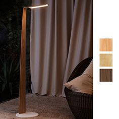 The Swan Floor is noble and slender at the same time, suiting various kinds of interiors and environments. The stepless touch-sensitive switch is stylishly hidden on the top of the light. High Resolution Picture, Floor Lamp, Curtains, Flooring, Lights, Design, Home Decor, Swan, Touch