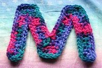 EASY TO CROCHET LETTER PATTERN  FREE