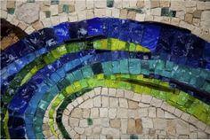 Claire Mosaique  Fresque pour EDF