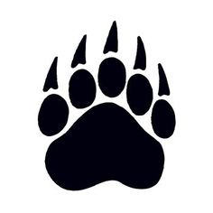 Bear paw print - For my character