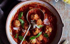 Sicilian meatballs in spicy tomato sauce recipe | FOOD TO LOVE