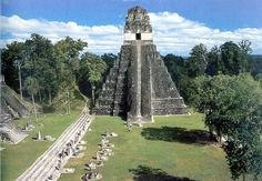 Tikal is one of the largest archaeological sites and urban centres of the pre-Columbian Maya civilization. It is located in the archaeological region of the Petén Basin in what is now northern Guatemala Maya Civilization, Tikal, Tropical Forest, Cultural Experience, Mayan Ruins, Archaeological Site, Family Travel, Holidays, Vacation
