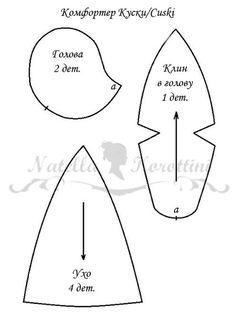 Patrón de la cabeza y las orejas