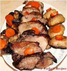 Pot Roast, Steak, Ethnic Recipes, Mariana, Pork, Carne Asada, Roast Beef, Steaks