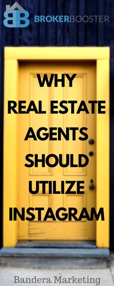 Why real estate agents should use Instagram. tricks and tips on how to grow your brand and business for real estate agents. #realestate #realestatemarketing #realtor