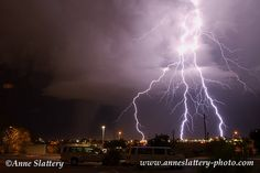 Lightning in Albuquerque, NM by The Bright Edge - Photography by Anne Slattery IMG_E_62443 | Flickr - Photo Sharing!