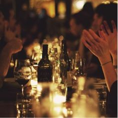 dinner al fresco Ernst Hemingway, The Kinfolk Table, Eat Together, Dinner With Friends, In Vino Veritas, Simple Pleasures, Good Times, Wines, Life Is Good