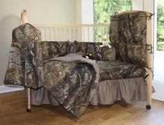 Realtree All Purpose Crib Bedding- Camouflage bedding- baby bedding- Cabin & Hunting decor