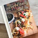 "Just received my copy of ""Our Sweet Basil Kitchen"" cookbook from my cute friend Carrian and her husband Cade over at @ohsweetbasil! It is truly an amazing cookbook with outstanding recipes and gorgeous photography to match!"