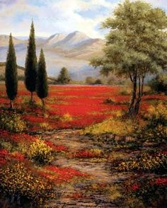 Large Tuscany Art | Giclee' Reproductions on Canvas - Custom Sized to HUGE