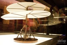 Da Vinci's helicopter by Rafael Kage, via Flickr