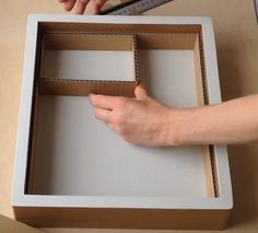 DIY How to make a cardboard drawer organizer HD (corrugated cardboard furniture) - box building Best Picture For clay crafts For Your Taste You are looking for something, and it is - Cardboard Drawers, Cardboard Box Crafts, Diy Drawers, Cardboard Furniture, Cardboard Organizer, Paper Crafts, Diy Storage Boxes, Craft Storage, Extra Storage