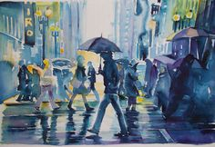 i colori della pioggia in citta'1