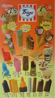 Ice cream from the past Vintage Advertisements, Vintage Ads, Ice Cream Prices, Ice Cream Poster, Party Fiesta, Ice Cream Van, Good Old Times, Poster S, 90s Kids