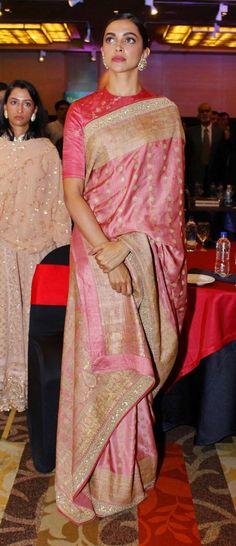 Deepika in saree – bestlooks Deepika In Saree, Sabyasachi Sarees, Bollywood Saree, Bollywood Fashion, Indian Sarees, Banarasi Lehenga, Bollywood Jewelry, Lehenga Saree, Silk Sarees