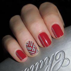 Red Hot Nails!!! #BodyToolz #nails #beauty