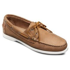 Maritime Boat Shoes, 50371 Tan Suede, blockout
