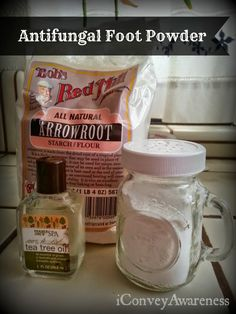Conveying Awareness with Jessica David: DIY Foot Spray & Powder with 5 Ingredients!