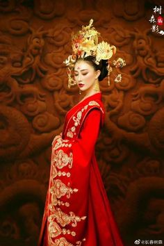 Chinese Wedding Dress Traditional, Traditional Dresses, Amy, Kimono, Victorian, Asian, Style Inspiration, Princess, Wedding Dresses