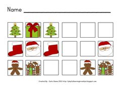Christmas AB Pattern Activity product from Playful-Learning-Brooklyn on TeachersNotebook.com