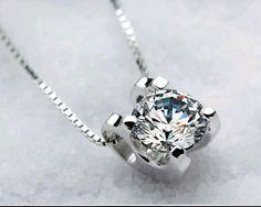 December Birthstone Flower Zircon Pendant Necklace