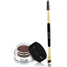 Stay Put Brow Color by Milani Cosmetics. Stand out by filling in, like a pro. Count on Stay Put Brow Color to deliver superior staying power with up to 16 hours of wear time, the perfect amount of bro
