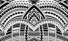 Ornement de style Samoa Graphismes Vectoriels