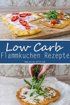 Low Carb Flammkuchen: leckerer & schneller Teig ohne Kohlenhydrate You are looking for a delicious tarte? Here are 3 doughs for low carb recipes. So Flammkuchen without carbohydrates. Sounds delicious and tastes really good! Healthy Low Carb Recipes, Low Carb Dinner Recipes, Paleo Dinner, Healthy Nutrition, Healthy Eating, Low Carb Pizza, Low Carb Lunch, Low Carb Flammkuchen, Low Cal Dinner