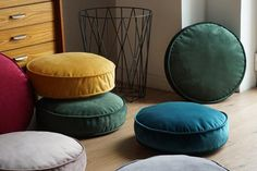 Check out our kids pouf selection for the very best in unique or custom, handmade pieces from our furniture shops. Floor Pillows Kids, Round Floor Pillow, Round Pillow, Floor Cushions, Diy Pillows, Couch Pillows, Pillow Ideas, Throw Pillows, Living Room Flooring