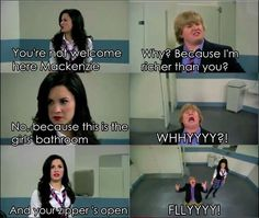 Sonny with a chance(: hahaha