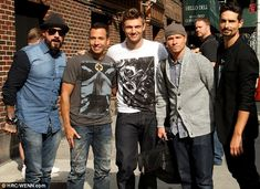 Backstreet's back, alright! Boyband rewind the years as they promote new album In A World Like This.  i have no words...
