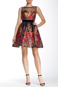 2014 dress by Adrianna Pappel was available at Nordstrom.