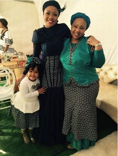 Tokelo Rantie and Diski Divas star Gigi's traditional wedding (PHOTOS)