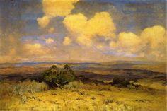 Julian Onderdonk: Sunlight and Shadow 1910 Oil on canvas
