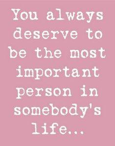 Everyone deserves that